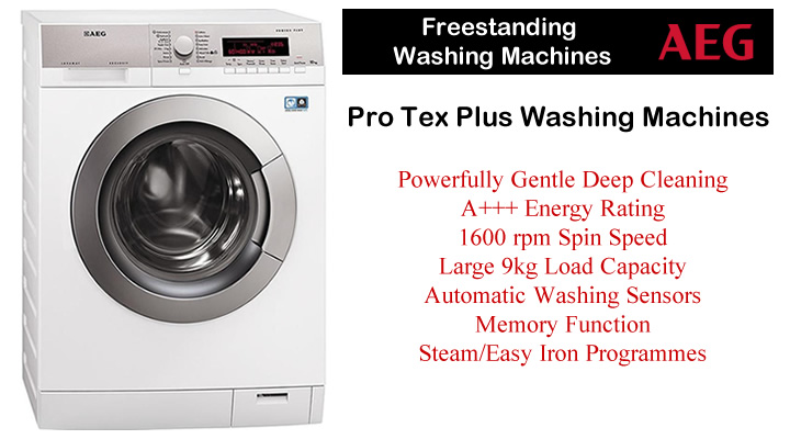 AEG Washing Machines Gentle Steam Quick Quiet Wash Touch ...