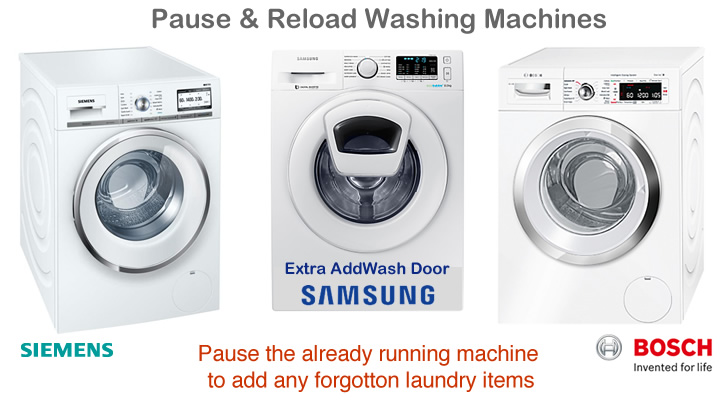 Reload AddWash Washing Machines