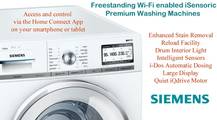 Siemens Washing Machines compare prices and models