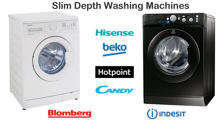 Slim Depth Washing Machines