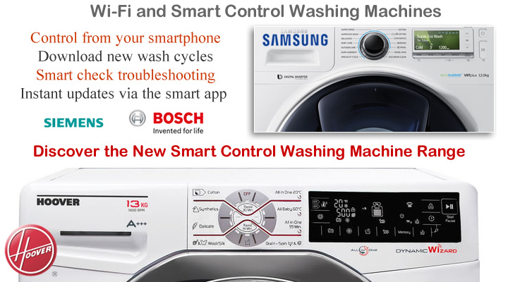 Wi-Fi Washing Machines compare prices and smart models
