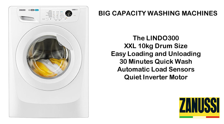 Zanussi Washing Machines compare prices and models